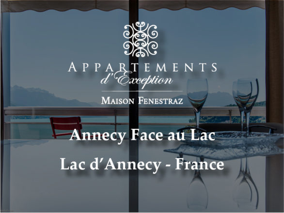 Appartement Annecy Face au Lac - Maison Fenestraz