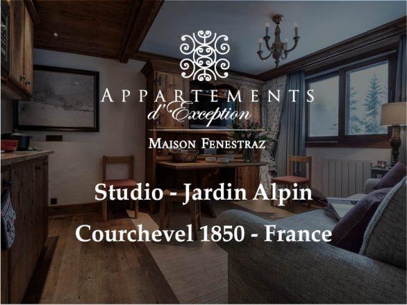 Studio Jardin Alpin - Maison Fenestraz