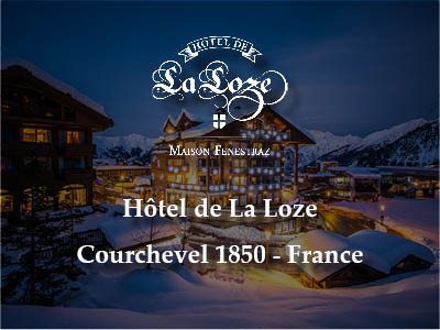 Hotel de La loze à Courchevel